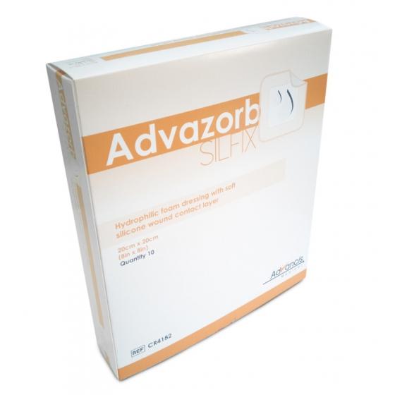 ADVAZORB SILFIX 20X20CM CX10 CR4182