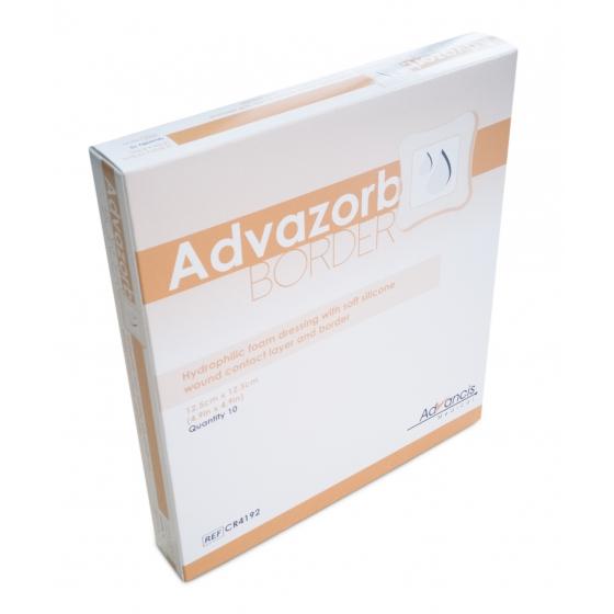 ADVAZORB BORDER 12.5X12.5CM CX10 CR4192